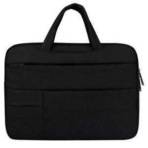 Universal Multiple Pockets Wearable Oxford Cloth Soft Portable Leisurely Handle Laptop Tablet Bag, For 15.6 inch and Below Macbook, Samsung, Lenovo, Sony, DELL Alienware, CHUWI, ASUS, HP
