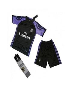 Black Club Football Kit Real Madrid