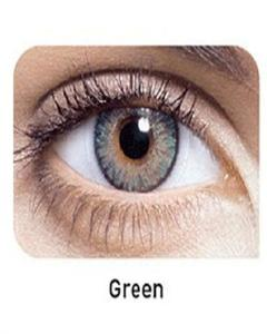 Green Soft Contact Lenses With Kit