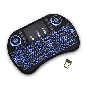 Lighting Mini Wireless Keyboard (Touchpad as Mouse)