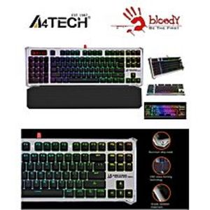A4TECH Bloody B845R - Mechanical Light Strike Left Num RGB Animation Gaming Keyboard