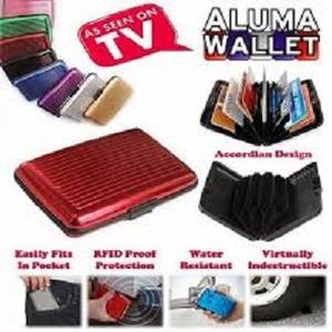 Water Resistant Aluma Wallet