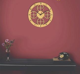 Wall Clock,Wooden wall clock,Antique design Favorite 3D Laser Cut Wall Clock-Home decor