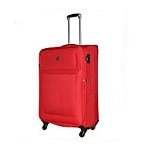 SwissproVernier - 4 Wheels Soft Trolley 31 Inch - Red