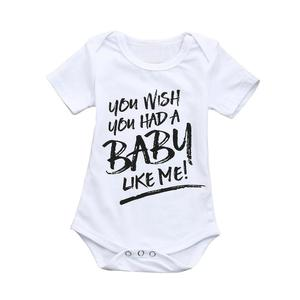 Toddler Baby Boys Letter Romper Brother Jumpsuit Playsuit Family Clothing