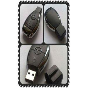 Mercedes Benz Car Key Usb Pen Drive Flash - 64Gb - Black