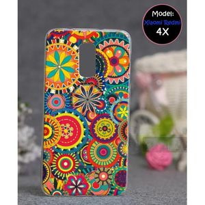 Xiaomi Redmi 4X Cover Floral Style - Multicolor
