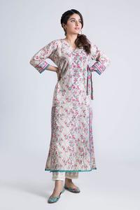 Bonanza Satrangi-Spring Fling Collection 2019 BEIGE LAWN-1PC Unstitched Suit-KKC191P06