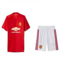 sale retailer 118d8 e1a38 Red Polyester Manchester United Football Kit - Large