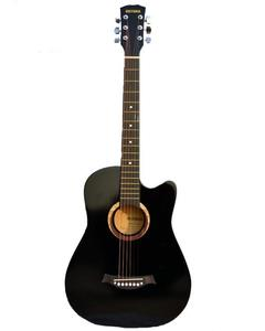 Victoria Semi Acoustic Guitar 39'' with 4 band EQ- Black
