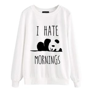 Sweatshirt I Hate Morning