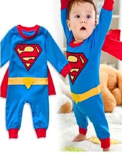 Superman Baby Rompers Jumpsuit Infant