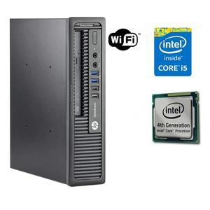 HP ProDesk 600 G1 SFF Desktop PC - Intel Core i5-4570 4th Generation  3.2GHz 8GB 500GB DVDRW Windows 10 Pro