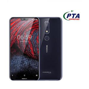 "Nokia 6.1 Plus - 4GB - 64GB - 4G - 5.8"" - Dual Camera - Blue"
