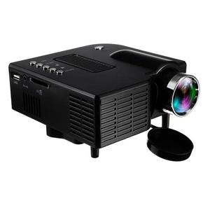 Mini Projector  Upgraded, UNIC UC28+3D 1080p Portable LED Projector Support USB HDM
