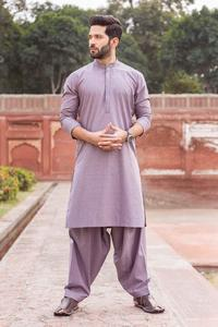 Bonanza Satrangi GRAY-COTTON-KURTA SHALWAR