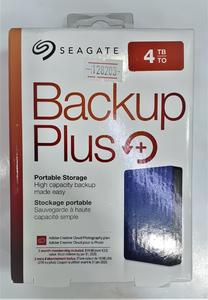 Seagate Backup Plus Slim Portable External Hard Drive - 4TB