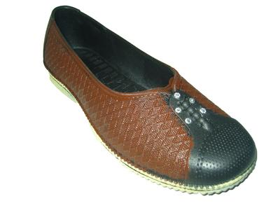 New Pcu Casual Slip-Ons Premium Quality Rubber Shoes For Women - Brown
