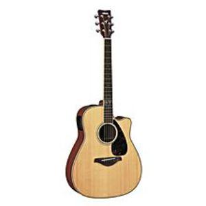 YamahaSemi Acoustic Guitar With Bag,Strap,Picks