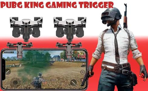 King PUBG Controller Pubg Trigger Button Phone Mobile Phone Trigger Button Handle King PUBG Controller Phone Mobile Game Trigger  Button Handle For All Smart Phones