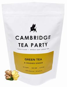 Cambridge Tea Party Crushed Ginger Green Tea - 180g