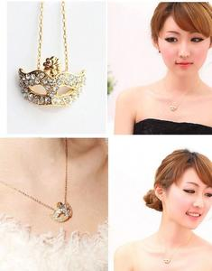 Austrian Crystal Jewelry Set For Women Gold/Silver Color Mark Style Necklace&Earrings Sets