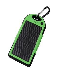 Solar And Electric Power Bank Waterproof 5000Mah