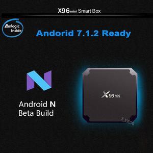 New X96 Mini 8G 16G WiFi Smart TV Box Android