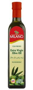 MILANO EXTRAVIRGIN OLIVE OIL 250ML GLASS BOTTLE