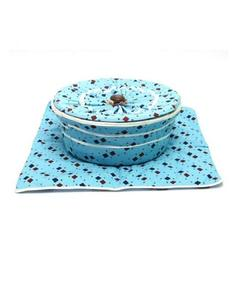 Complete Roti Basket Light Blue Colour By Markhor Shopping