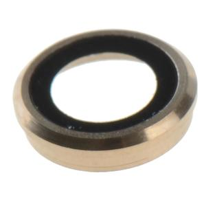 """Camera Lens Protector Ring Circle + Bracket + Flash For iPhone 6 4.7"""" (Gold)- - intl"""