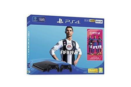 Sony PS4 500GB Extra dual shock 4 & Fifa 19 Game