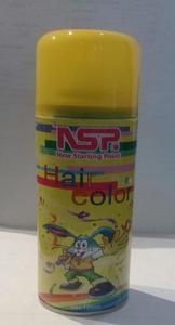 Hair Coloring Spray - Yellow 125ml
