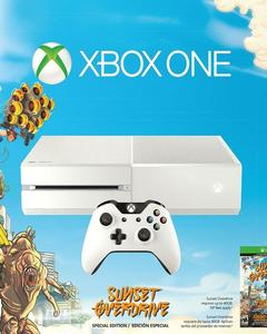 Xbox One - Sunset OverDrive Edition - PAL - 500 GB - White