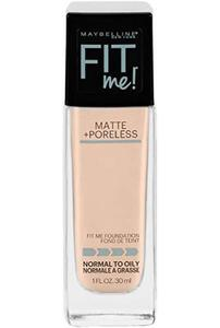 Maybelline New York Fit Me Matte + Poreless Foundation - Nude Beige (30ml) by Hit & Fit Collection