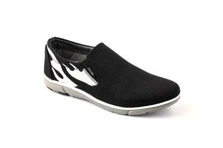 Urban Sole Black Canvas Shoes  Winter Collection - CV-8104