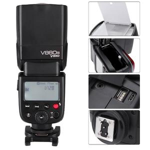 Godox VING V860N Kit i-TTL Flash Lithium-ion Chargeable Battery Speedlite with Battery Charger for Nikon D7000 D90 DSLR