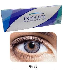 Gray Color Contact Lenses with free Kit