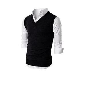 Cashmere Sleeveless Sweater For Men by Hit & Fit Collection