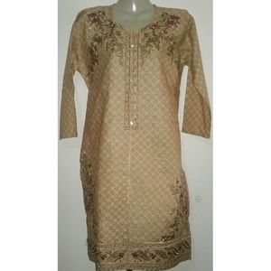 Kurti Light Brown Color