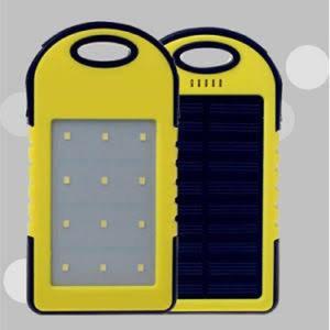 20000mAh Portable Solar Power Bank With 12 LED