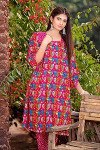 SITARA STUDIO Sapna Collection 2019 Multicolor Lawn 2PC Unstitched Suit For Women - 6127 A  (Un-stitched)