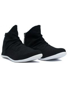 Shopping At Craze Zipper Black Sneakers For Men
