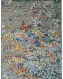 BUTTERFLY MODERN ABSTRACT RUG TK- 14851 SIZE: 4'.1''X6'