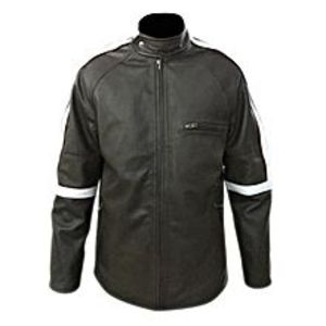 TASHCO Clothing MEN'S GENUINE BLACK REAL LEATHER JACKET