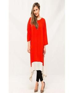 Red Stylish Kurti For Her K02