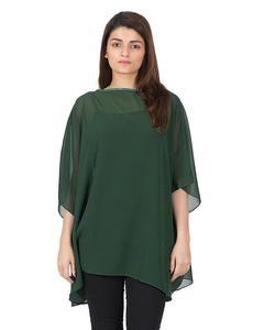 ponchois an outerwear Soft & light weight chiffon top