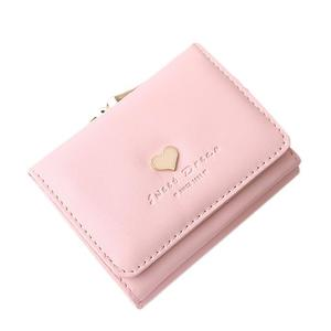 Women Lady Leather Clutch Short Wallet Card Holder Purse Handbag Bag