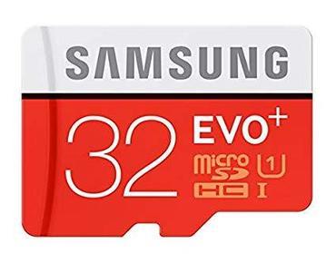 32 GB - Micro SD Card - Red