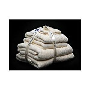 AKTIAlkaram Towel 6 - Piece Towel Set Cream